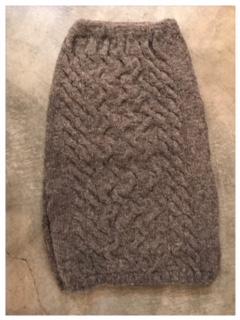 knitスカート