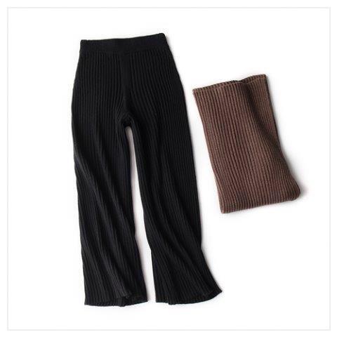 knitパンツ