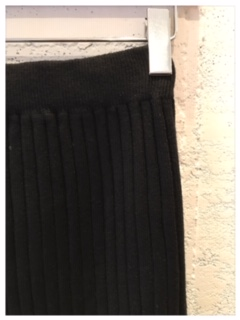 knit スカート